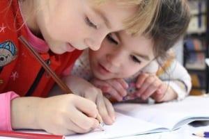 Kids learning in groups Lollipop nursery